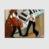 Quadro moderno musica - Mariz 2