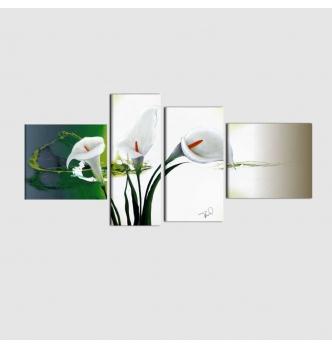 EVONY - Quadri moderni con fiori calle