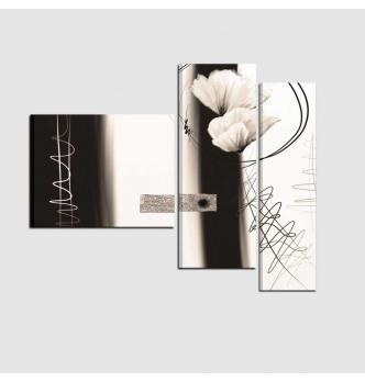 LUDMILLA - cuadros modernos con flore