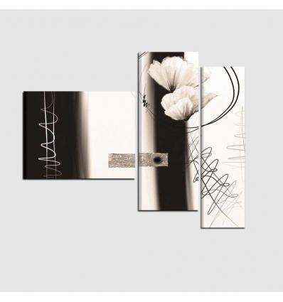 LUDMILLA - quadri moderni con fiori