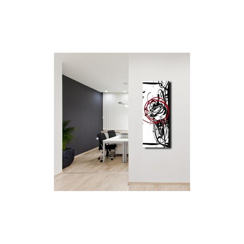 Quadri astratti con fiori wink for Quadri astratti moderni verticali