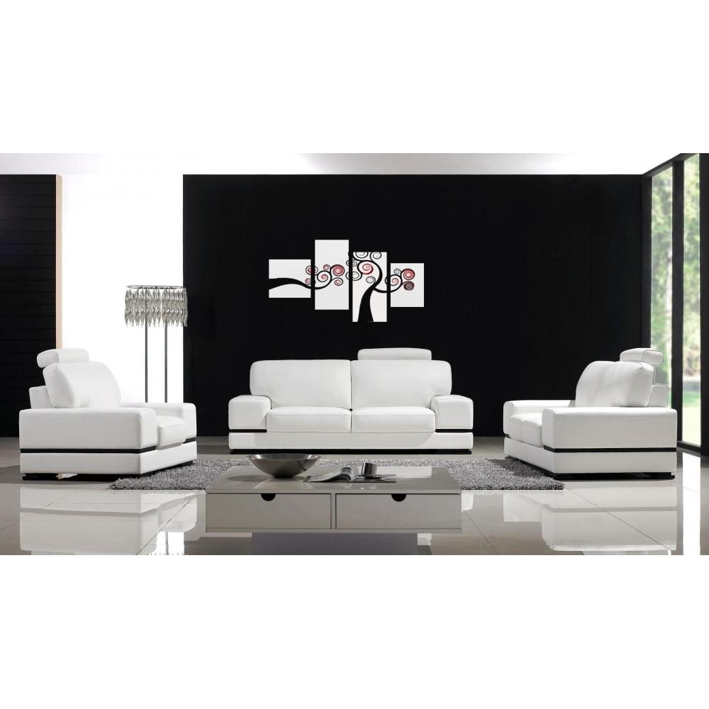 Dipinti astratti in bianco e nero acilia 3 - Tappeto bianco e nero ...