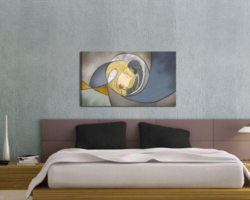 Vendita online di quadri moderni astratti ed etnici for Camera da letto del soffitto della cattedrale